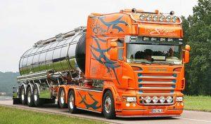 Modifiyeli-Scania-Tır-Resimi